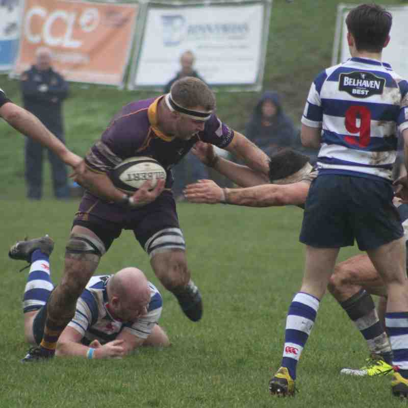 BT NL1 Marr Rugby v Howe of Fife RFC (7.1.17)