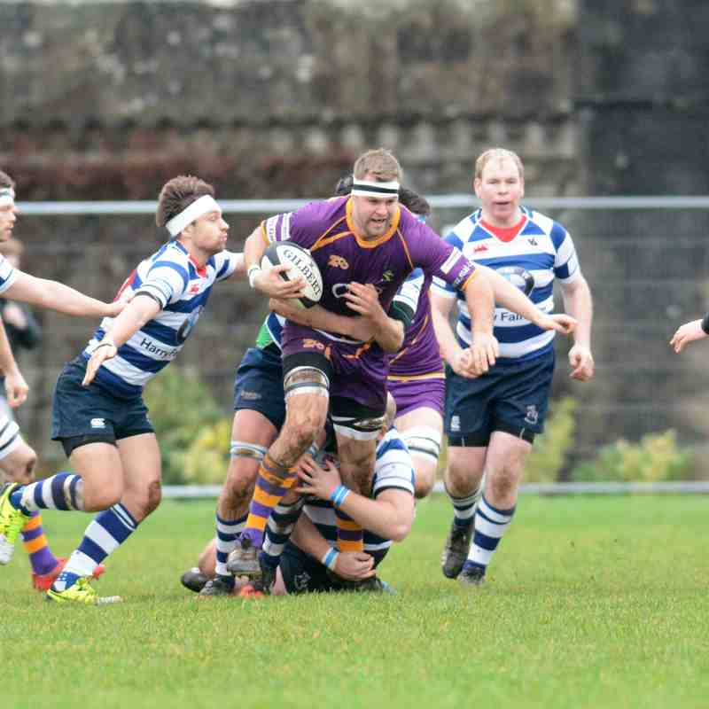 BT NL1 Marr Rugby v Howe of Fife RFC (7.1.17) - Courtesy of Ken Ferguson