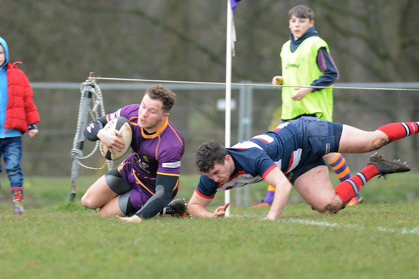 Marr Rugby round-up: Senior results (18.2.17) – 1s deliver a dozen strikes while 2s grind out decisive away table topper win against Cartha to extend their league lead