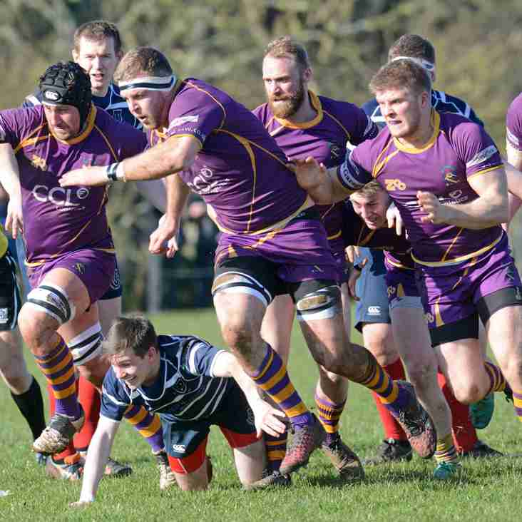 Marr Rugby round-up: Senior results Saturday 25.3.17 – Marr Rugby's 2s secure league title while 1s maintain pole position