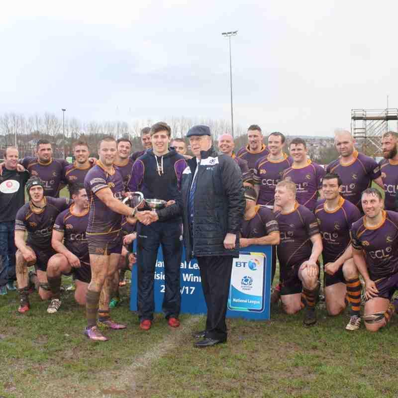 BT NL1 GHA RFC v Marr Rugby (1.4.17)