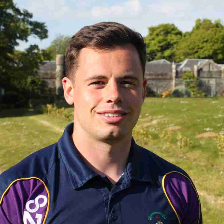 Marr Rugby:        New Development Officer takes up post