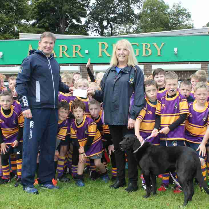 Rotary Club of Troon supports Marr Rugby