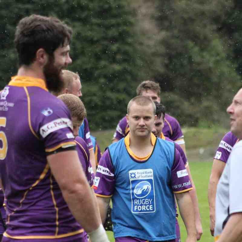 BT Premiership : Hawick v Marr Rugby (16.9.17)
