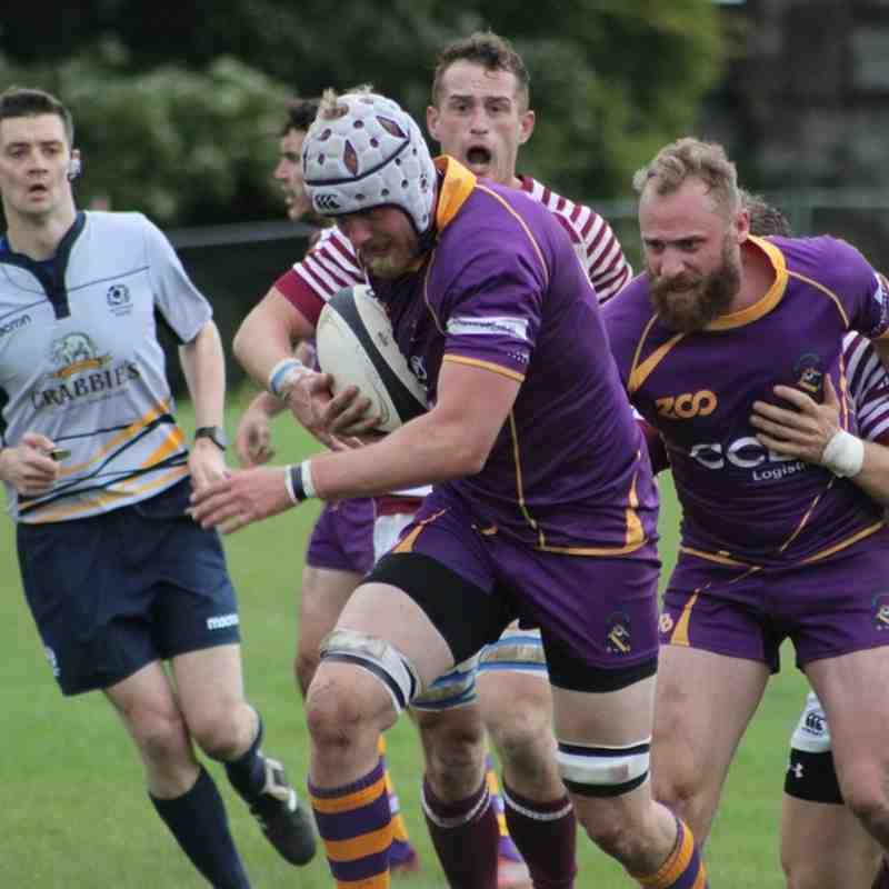 BT Premiership : Marr Rugby v Watsonian FC (23.9.17)