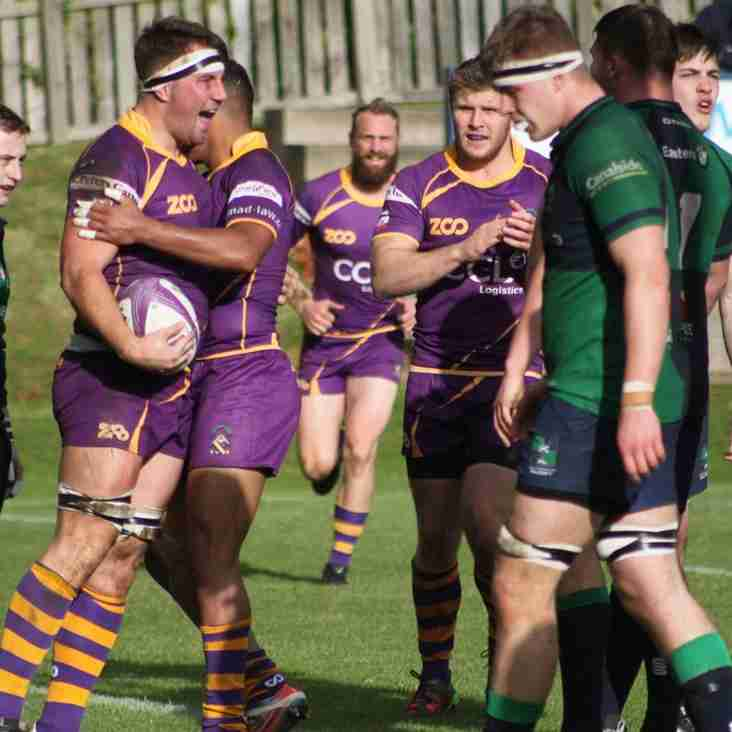 Marr Rugby round-up: Seniors' results (Saturday 30 September 2017) – Mixed fortunes; one from three but vital points for all