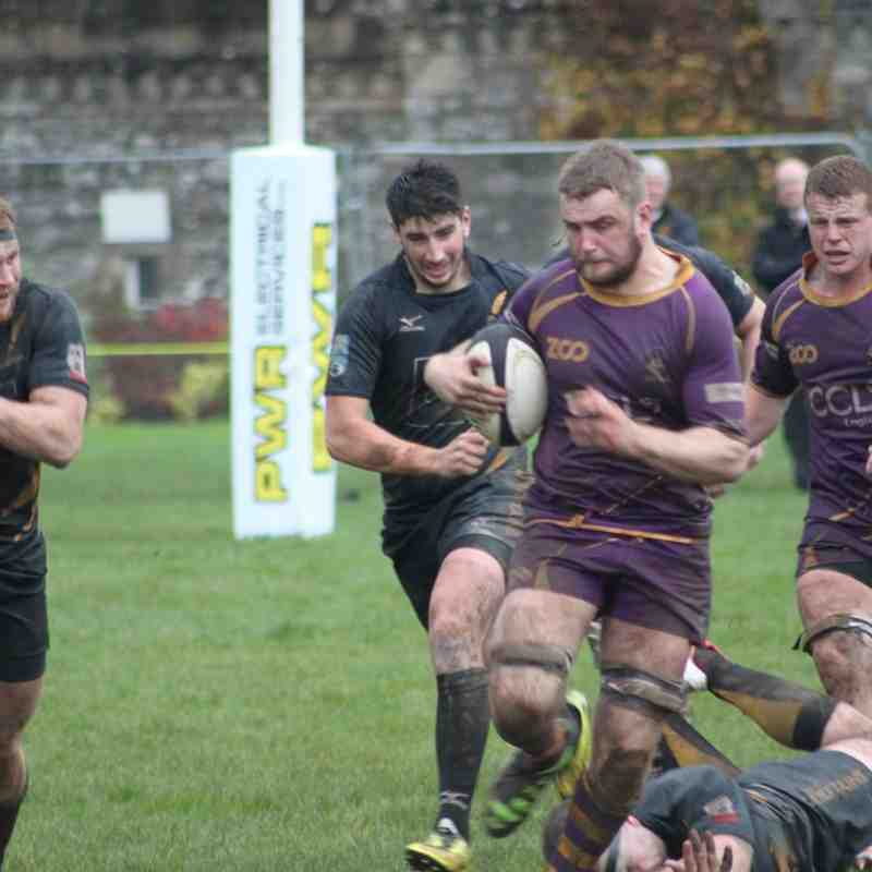 BT Premiership : Marr Rugby v Currie Chieftains RFC (21.10.17)