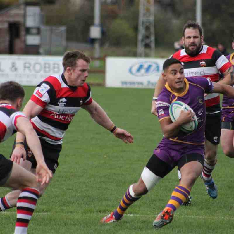 BT Premiership :Stirling County RFC v Marr Rugby (28.10.17)