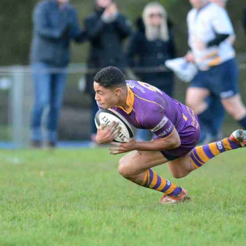 BT Premiership : Marr Rugby v Glasgow Hawks RFC (4.11.17) (courtesy of Ken Ferguson)