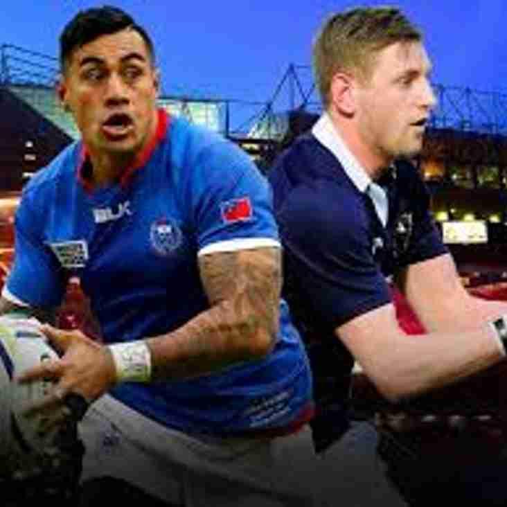 Scotland v Samoa on the biggest screen in Troon