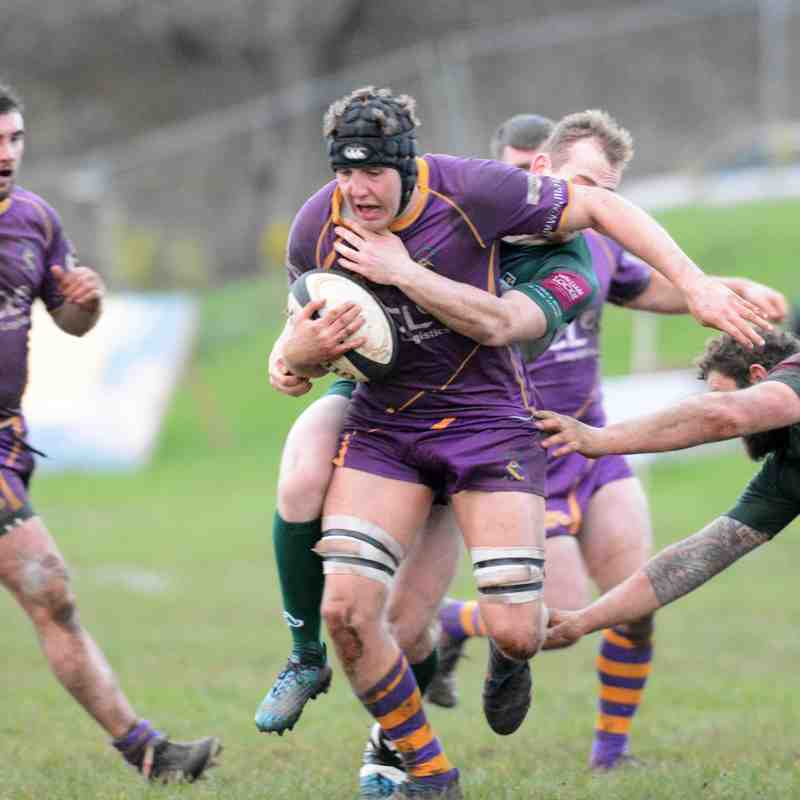 BT Premiership : Marr Rugby v Hawick RFC (9.12.17) (courtesy of Ken Ferguson)