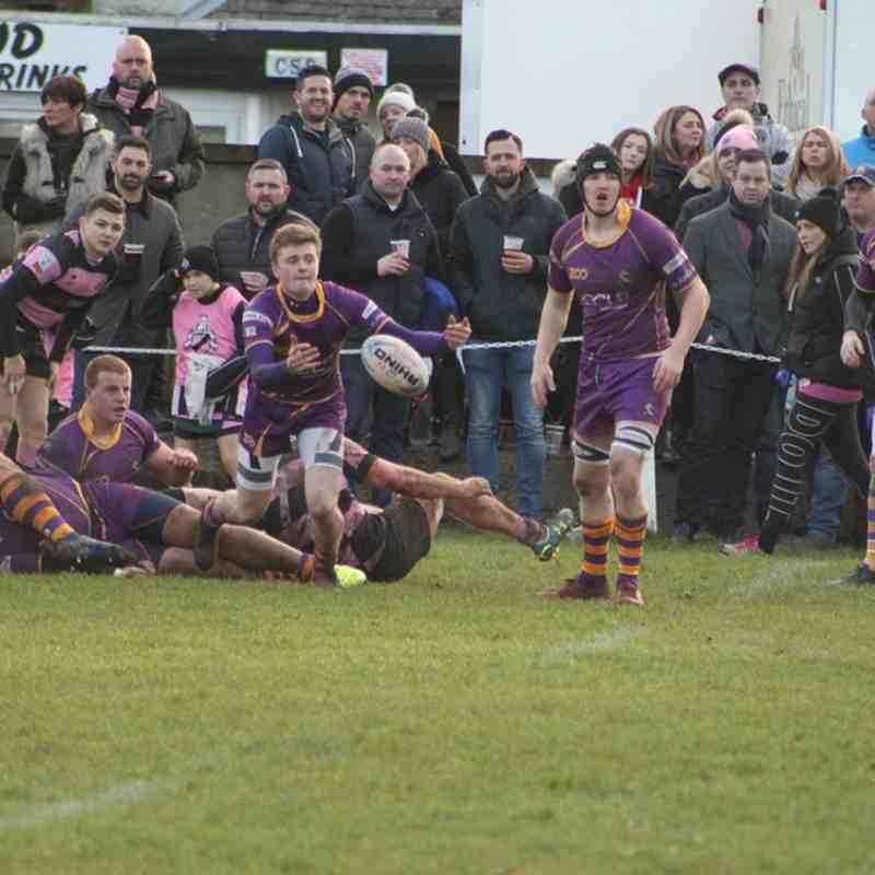BT Premiership : Ayr RFC v Marr Rugby (20.1.18)