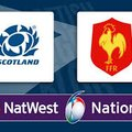Scotland v France on the biggest screen in Troon