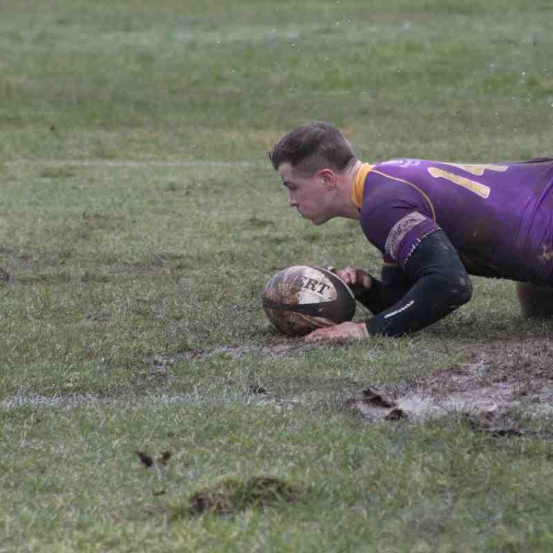 BT Cup Quarter Final - Marr Rugby v Melrose RFC ( 10.2.18)