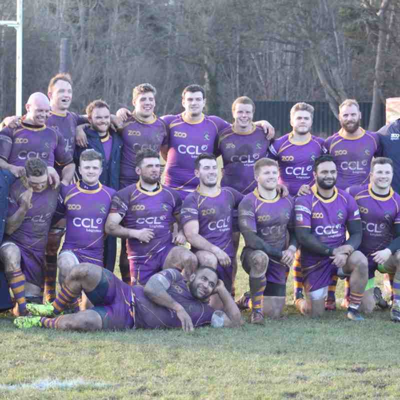 BT Premiership: Currie Chieftains v Marr Rugby (17.2.18)