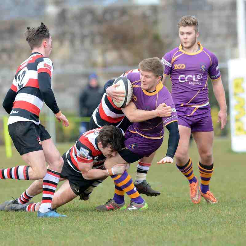 BT Premiership : Marr Rugby v Stirling County RFC (17.3.18)