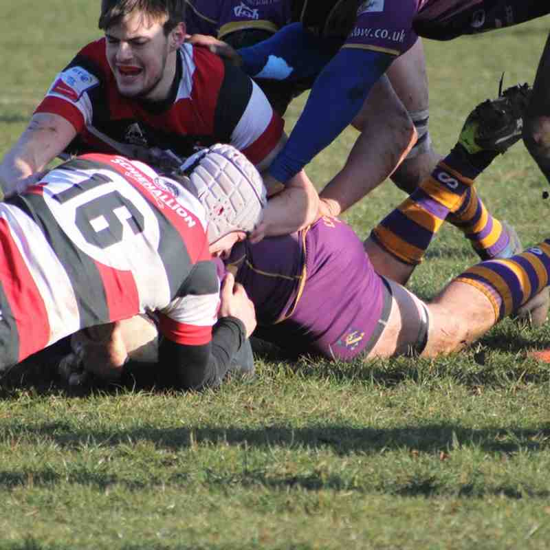 BT Premiership : Marr Rugby v Stirling County  (17.3.18)