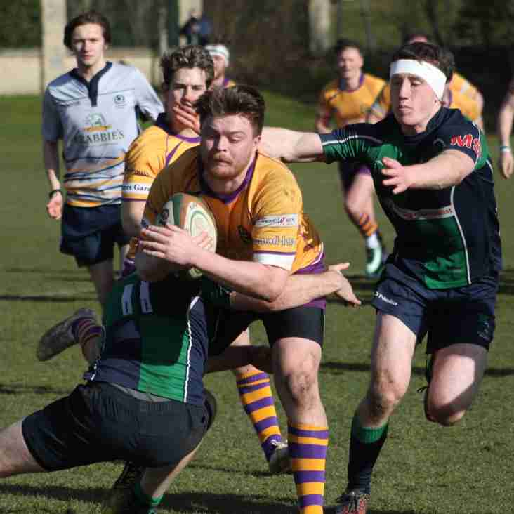 Marr Rugby:Senior squad selections for 31 March 2018