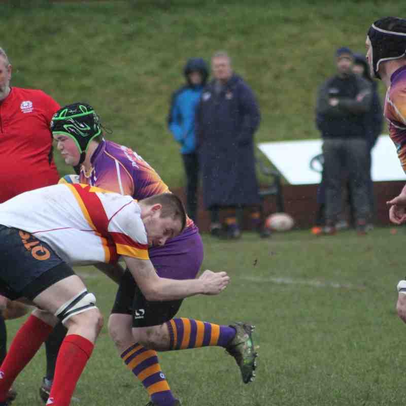 BT Reserve West 2 - Marr Rugby v Kilmarnock RFC 2s (7.4.18)