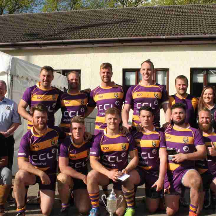 Marr Rugby round-up Saturday 12 May 2018 – Silver Saturday for Marr with success at NCS Glasgow City Sevens