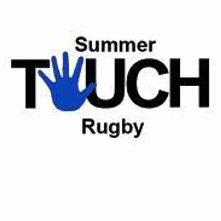 Family friendly Summer Touch at Marr Rugby