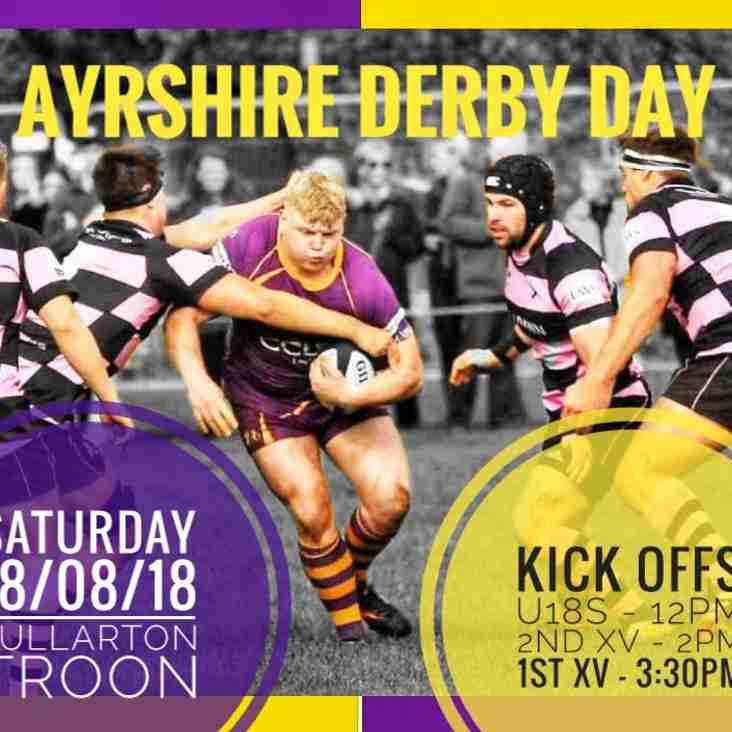 Marr Rugby – Super Saturday (Match details and parking arrangements)