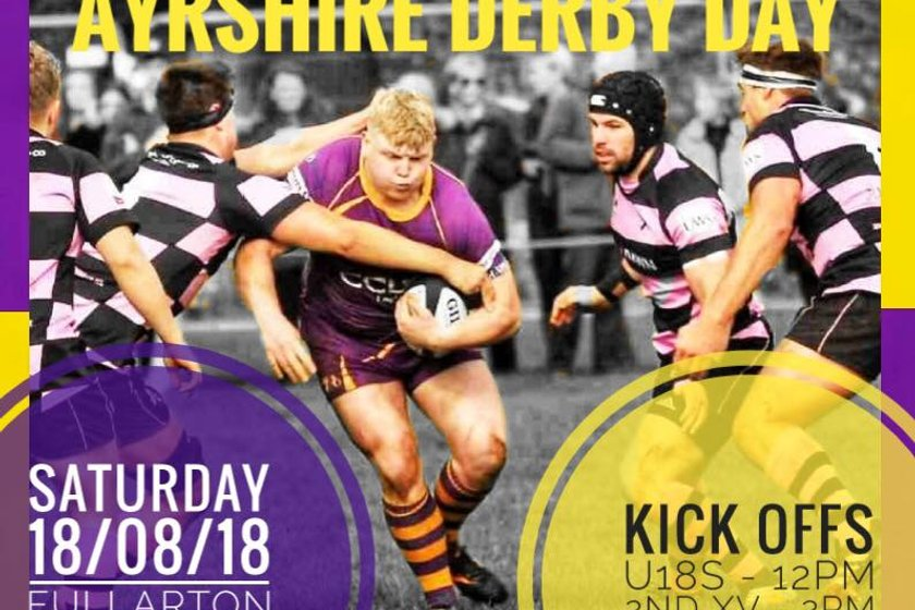 Marr Rugby – Super Saturday (Match details and parking arrangements)