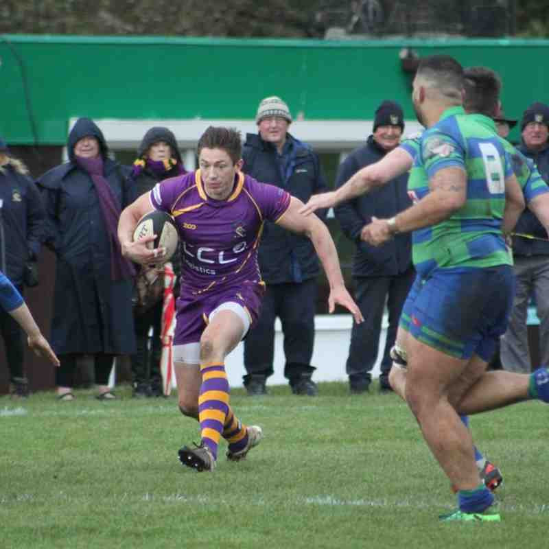Tennent's NL1 - Marr Rugby v Hamilton RFC (3.11.18)