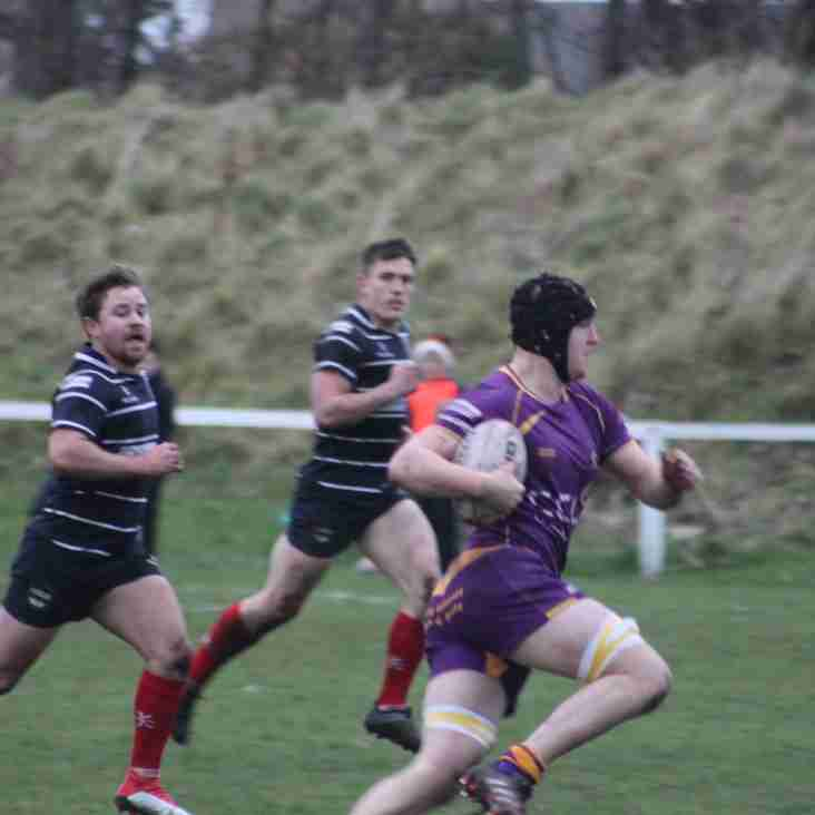 Marr Rugby round-up: Job done for 1s while 2s give it a good go