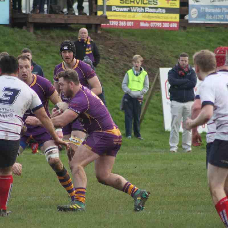 Tennent's NL1 Marr Rugby v Aberdeen Grammar (19.1.19)