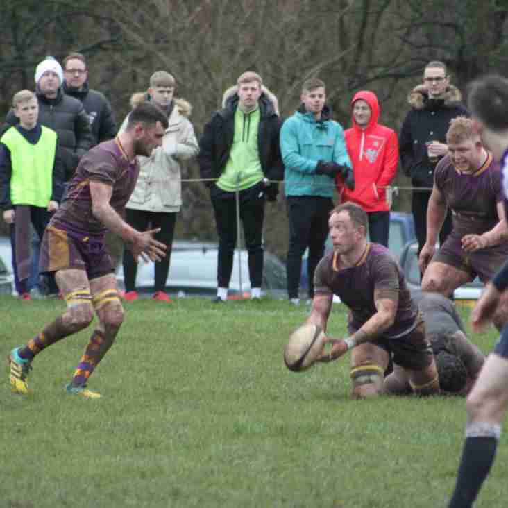 Marr Rugby round-up: Disappointment as its honours even for 1s; 2s find Melrose too hot to handle while 3s edge win in local derby