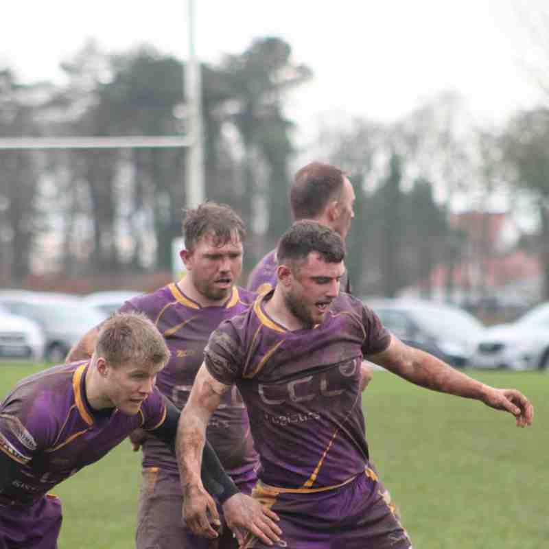 Tennent's NL1 - Marr Rugby v Selkirk RFC (26.1.19)