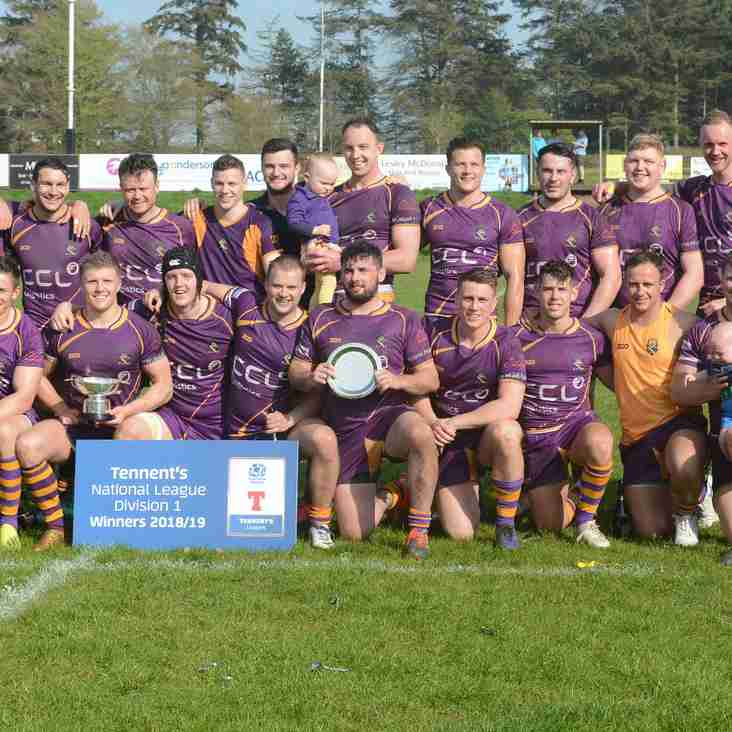 Marr Rugby round up – CHAMPIONS!