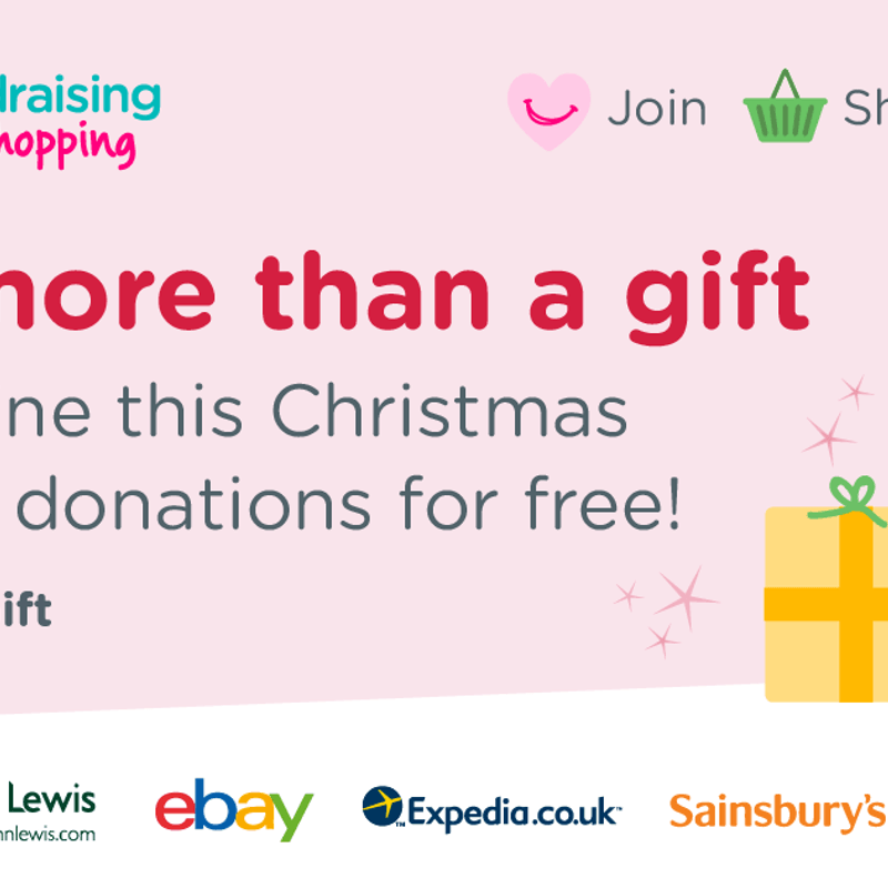 Give More Than A Gift with easyfundraising