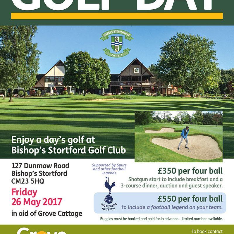 Grove Cottage Golf Day