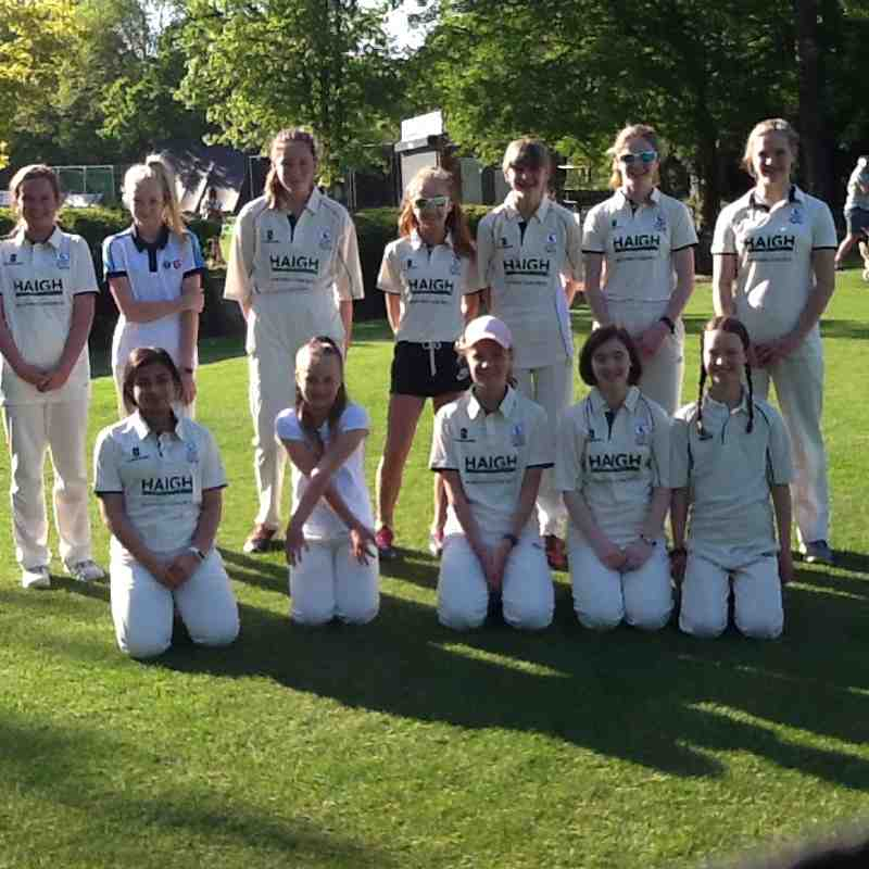 First Junior Girls game of the season vs Abbots Langley U14s
