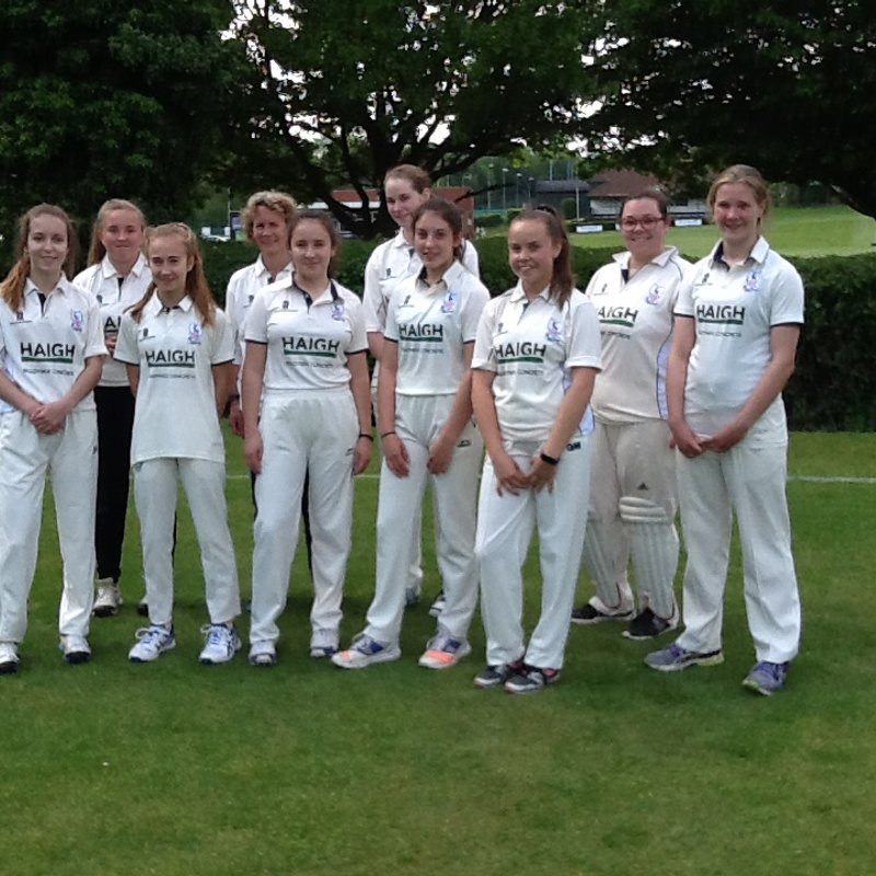 Historic Day For Ladies Cricket at BSCC