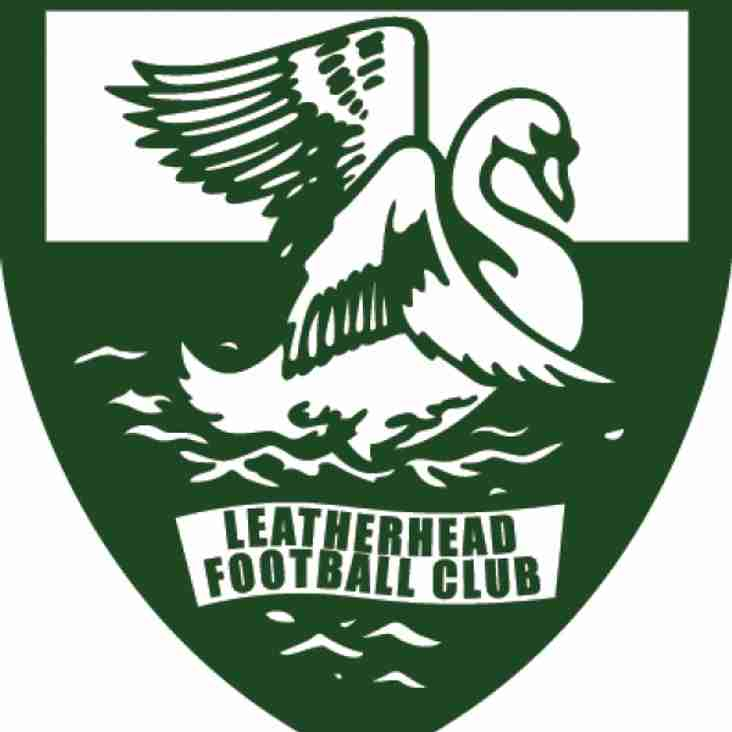 Leatherhead Football Club welcome new sponsors of our Under 21s Development Squad