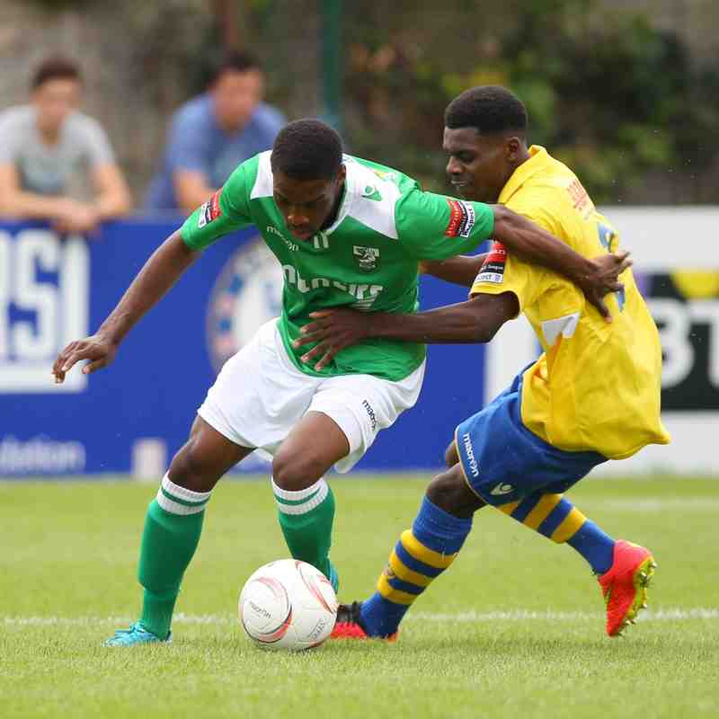 First Team v Staines Town - 15th August 2015 by Steve McCarthy www.soccersnaps.org