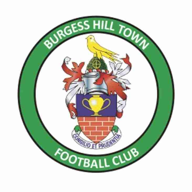 Saturday 11th February Tanners welcome Burgess Hill Town to Fetcham Grove