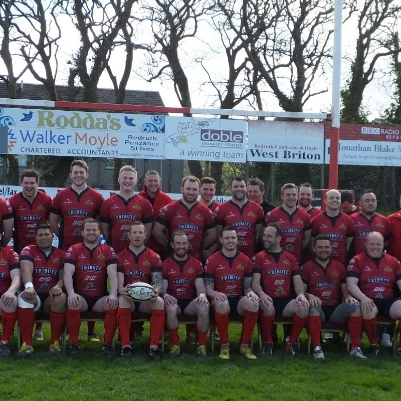 Redruth 1st XV beat Bury St Edmunds 22 - 35