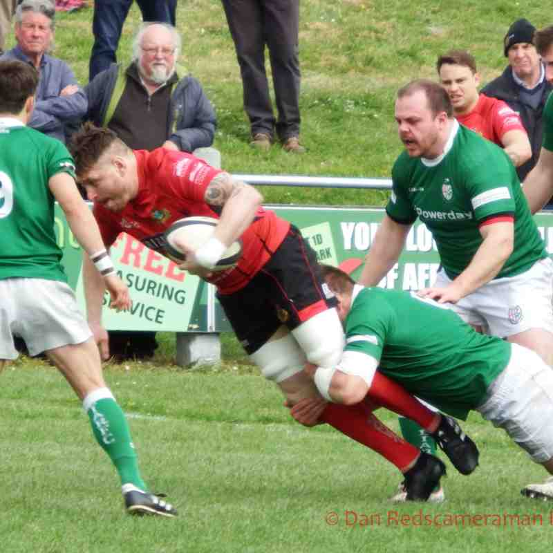 Redruth v London Irish Wild Geese - 22-04-2017 by Dan Barbary