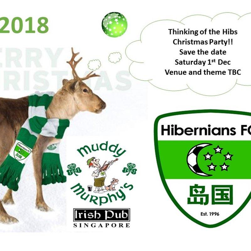 Hibs Xmas Party 2018