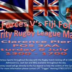 International Charity Match UK Forces v Fiji Forces