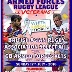 GB Armed Forces Vets v British Asian Rugby Association