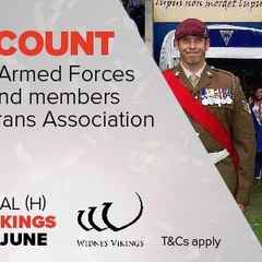 Armed Forces WeekendTicket Offer Warington Wolves v Widnes Vikings Ticket Offer