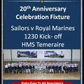 Royal Navy Rugby League 20th Year Anniversary Celebrations