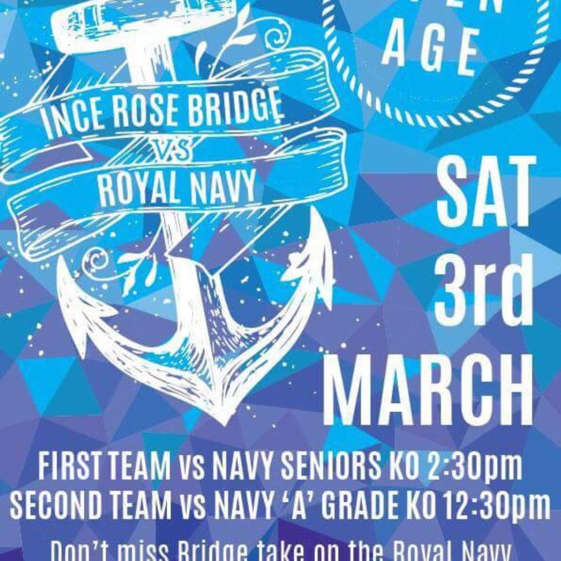 Royal Navy v Ince Rose Bridge