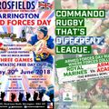 Armed Forces Day At Crosfields ARLFC
