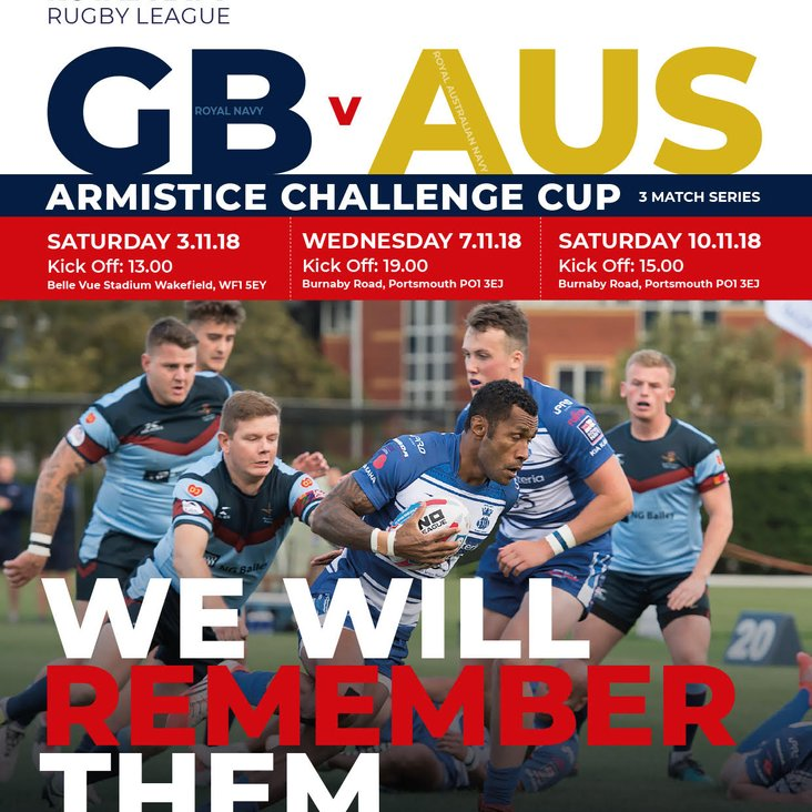 Royal Navy Rugby League Armistice Challenge Cup<